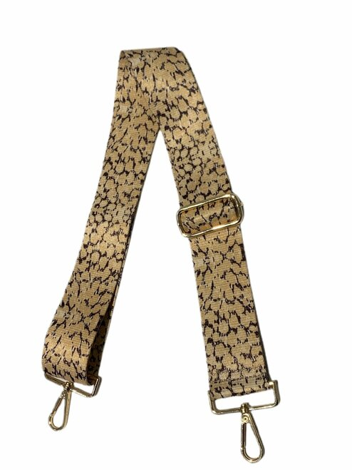 Animal Strap Yellow Cheetah