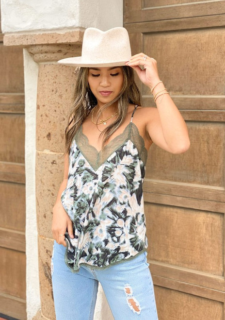 Abstract Dye Cami