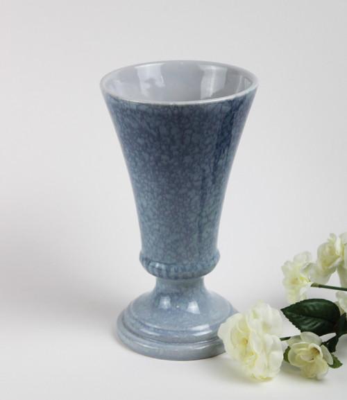 Royal Haeger Vase - Steel Blue