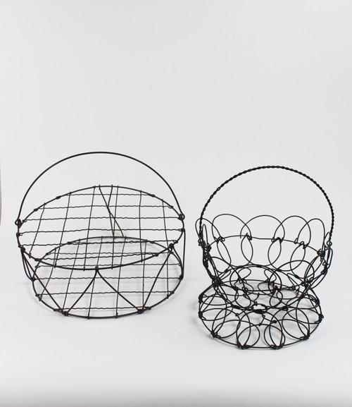 Wire Baskets (2) - SOLD