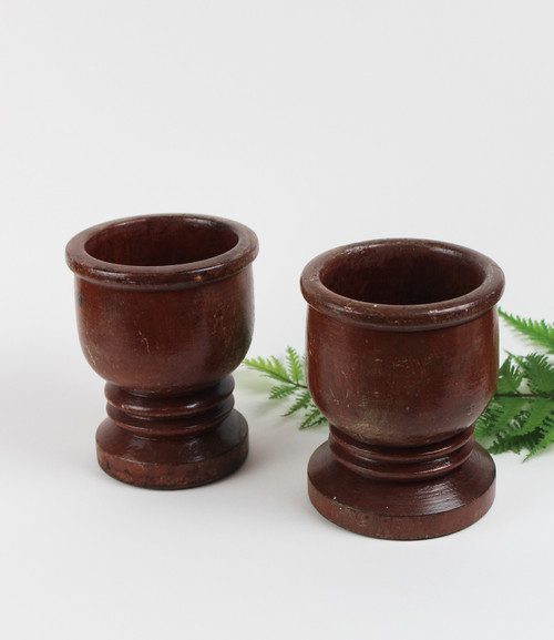 Wooden Goblets (pair)