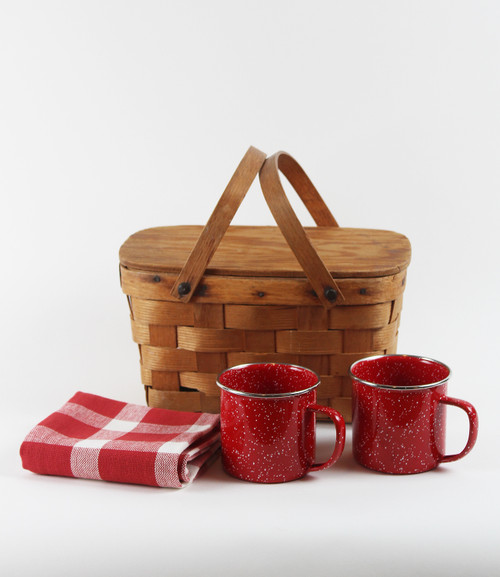 Picnic Snack Basket Gift Bundle