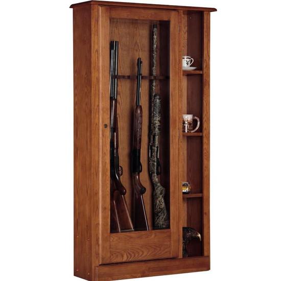 725 - 10 Gun/Curio Cabinet Combination