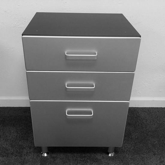 Tuff Stor Model 24203 Three Drawer Base Cabinet for Garage