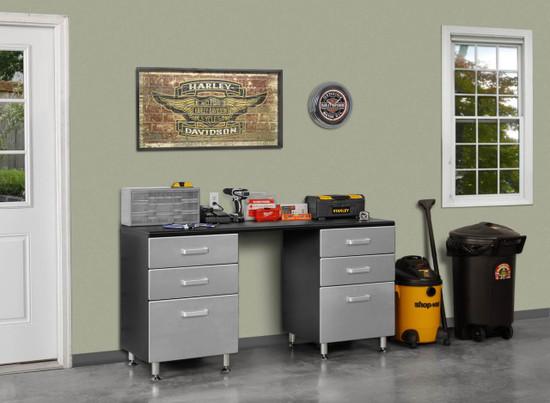 Tuff Stor Model 24207K 71 inch wide WorkBench with Six Sturdy Drawers