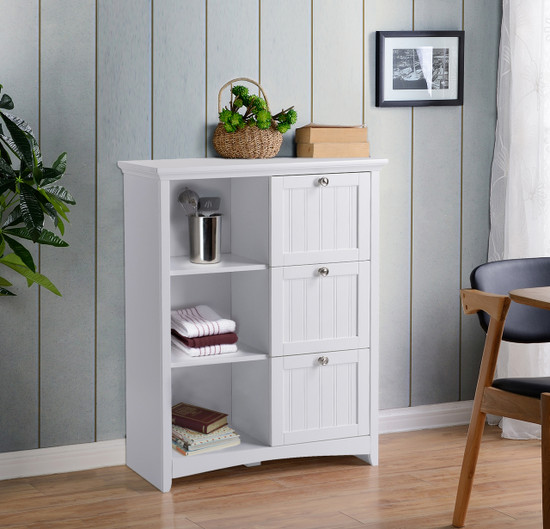 OS Home and Office Furniture Storage Chest with Three Drawers