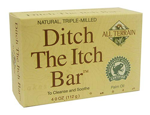 All Terrain Natural Ditch the Itch Bar, To Cleanse & Soothe Itchy, Irritated Skin, 4 oz