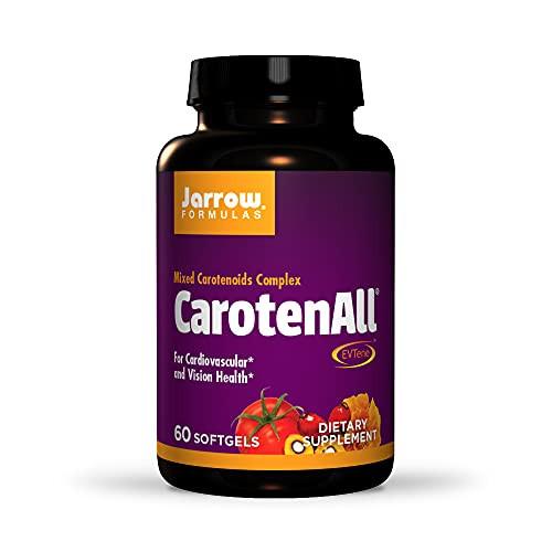 Jarrow Formulas CarotenAll for Cardiovascular and Vision Health, 60 Soft gels