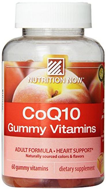 Nutrition Now Coq10 Gummy Vitamins, 60 Count