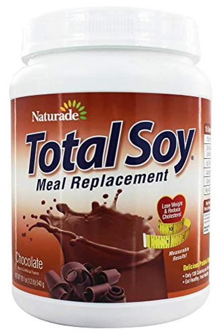 Naturade, Total Soy, Meal Replacement, Chocolate, 19.05 oz (540 g)