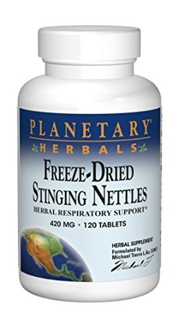 Planetary Herbals Freeze-Dried Stinging Nettles 420mg - 120 Tablets
