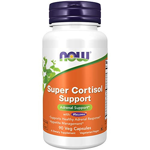 NOW Super Cortisol Support with Relora,180 Veg Capsules