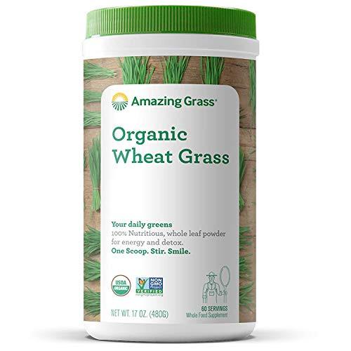 Amazing Grass Organic Wheat Grass Powder, 17 Ounce