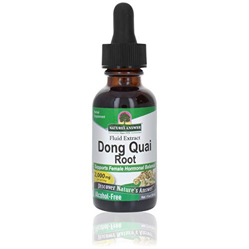 Nature's Answer Alcohol-Free Dong Quai Root, 1-Fluid Ounce