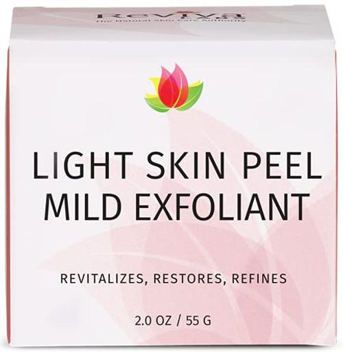 Reviva Labs Non-Chemical Light Skin Peel Facial Scrubs