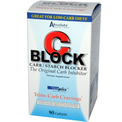 Absolute Nutrition CBlock Carbohydrate Inhibitor 90 tablets