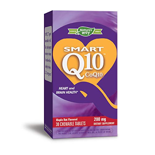 Enzymatic Therapy Vitaline Smart Q10 200mg, 30 Tablets