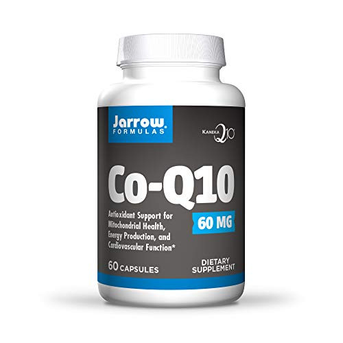 Jarrow Formulas Super Potent Coq10, Promotes Cellular Energy Production, 60mg, 60 Caps