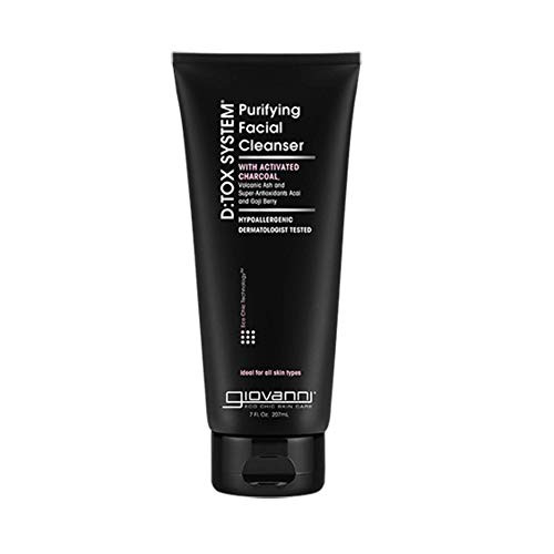 Giovanni D:tox System Purifying Facial Cleanser, 7 Fluid Ounce