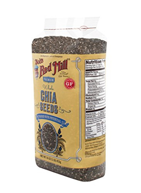 Bob's Red Mill Chia Seeds, 16-ounce (Package May Vary)