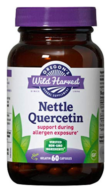 Oregon's Wild Harvest Nettle Quercetin - 60 vegetarian caps