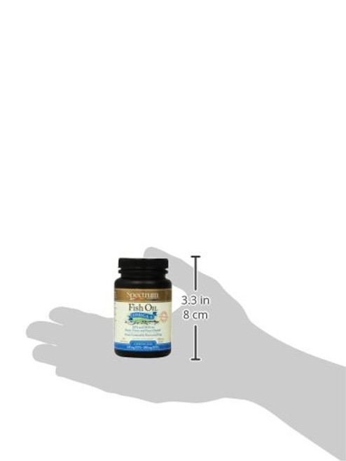 Spectrum Essentials Flax Oil Softgels, 250 Count
