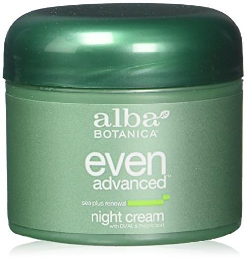 Alba Botanica Natural Even Advanced Sea Plus Renewal Night Cream 2 fl oz (3