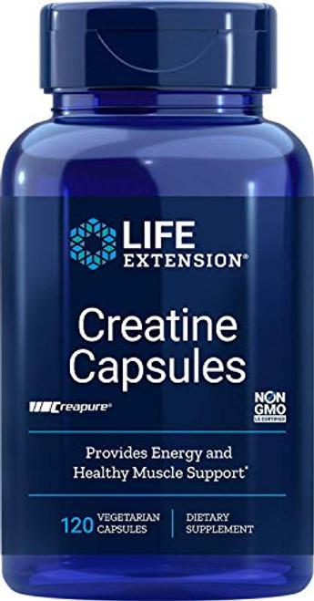 Life Extension Creatine 120 Vegetarian Capsules