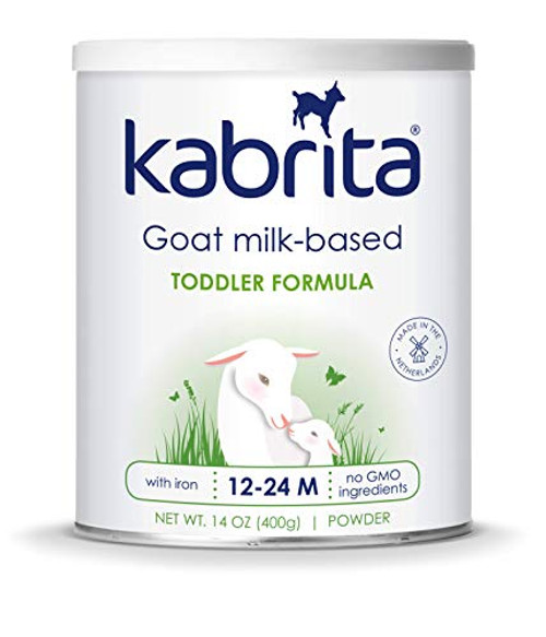 Kabrita Goat Milk Formula, Powder, Non GMO, Natural and Gentle 28oz (6-pack)