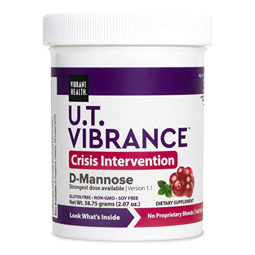 Vibrant Health, U.T. Vibrance Powder, Crisis Intervention for Urinary Tract Health, 10 Servings