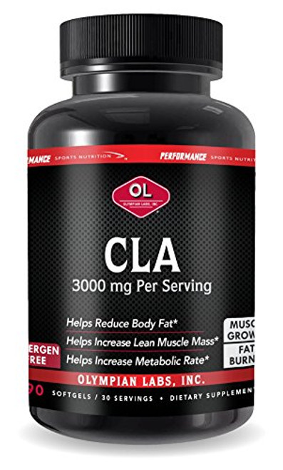 Olympian Labs CLA Softgels, 90 Count