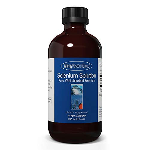 Allergy Research Group - Selenium Solution - Liver, and Immune Support - 236 mL (8 fl oz)