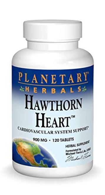 Hawthorn Heart Planetary Herbals 120 Tabs