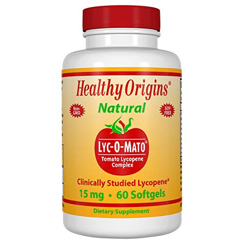 Healthy Origins LYC-O-Mato Lycopene 15 Mg, 60 Softgels