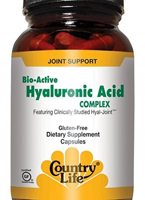 Country Life Bio-Active Hyaluronic Acid Complex, Capsules, 90-Count