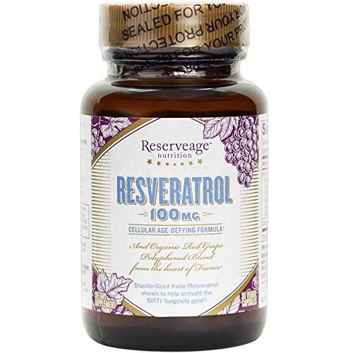 Reserveage - Resveratrol 100mg