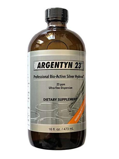 Allergy Research Group - Argentyn 23 - Bio-Active Silver Hydrosol, Immune Support - 16 fl oz