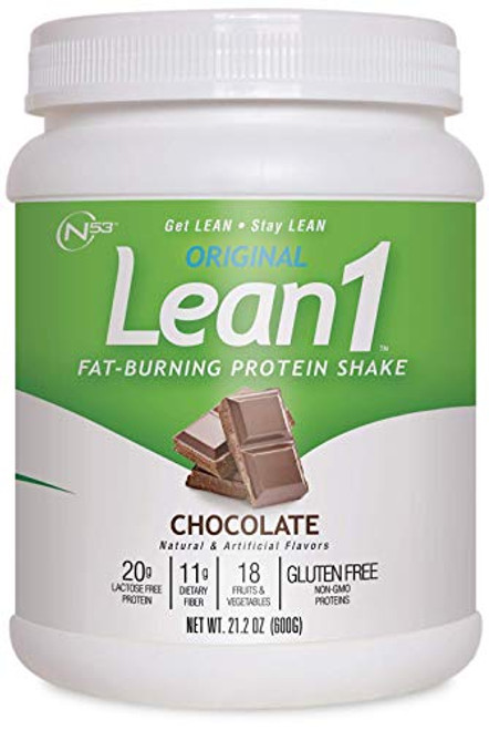 Lean1 Fat Burning Meal Replacement, Chocolate, 18.3 oz (520g)