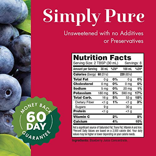 Dynamic Health Blueberry Concentrate Plastic   8 oz