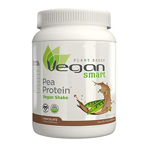 Vegansmart Plant Based Pea Protein Powder by Naturade - Chocolate (15 Servings)