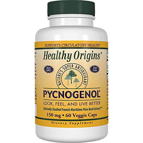Healthy Orgins Pycnogenol Veg Capsules, 150 mg, 60 Count