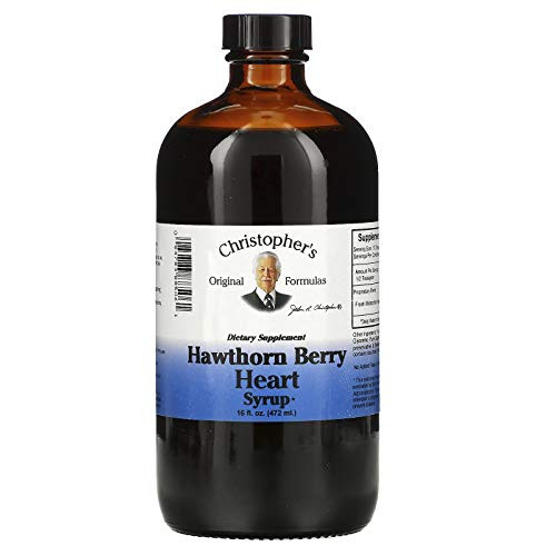 Christopher's Original Formulas Nourish Hawthorn Berry Heart Syrup 16 Oz