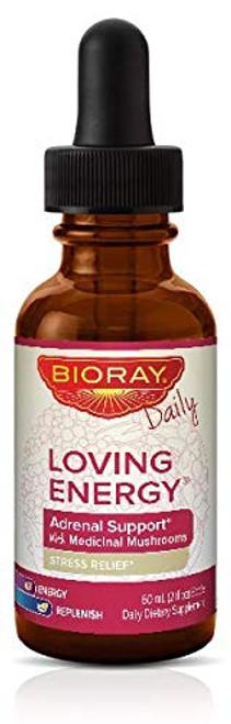 Bioray Loving Energy Stress Relief Herbal Supplement 2 fl oz