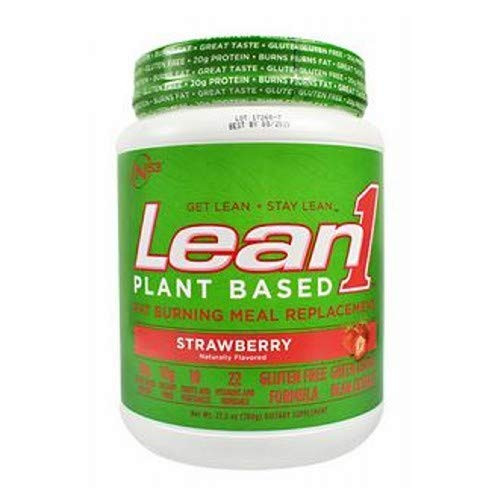 Lean1 Plant Based Strawberry by Nutrition53, 15-serving (27.5 ounces)