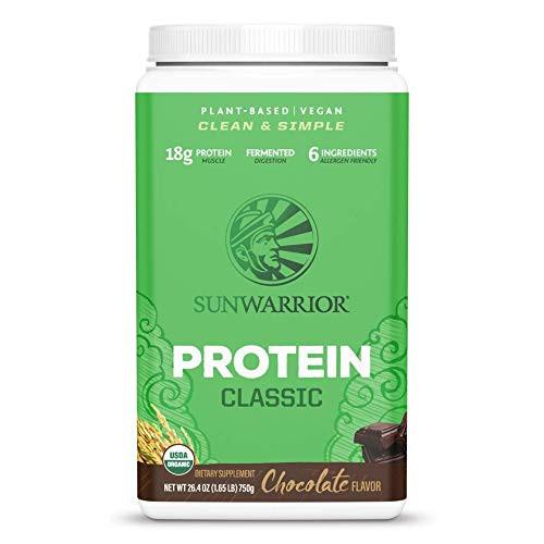 SUNWARRIOR Organic Brown Rice Protein Chocolate, 750 GR