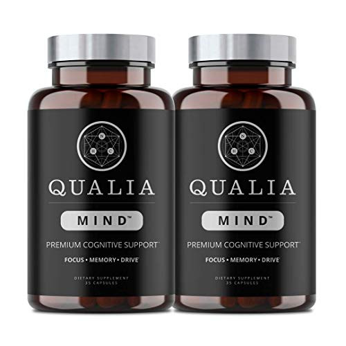Qualia Mind from The Neurohacker Collective®   Premium Nootropic Supplement for Mental Performance & Brain Health. Designed to Optimize Brain Function, Increase Focus & Mental Clarity (35 Count)