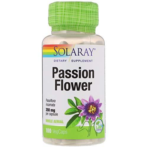 Solaray, Passion Flower, 350 mg, 100 VegCaps
