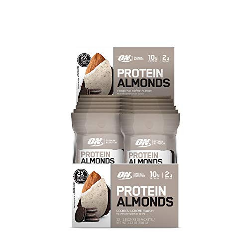 Protein Almonds Cookies Crme (12 Packets)