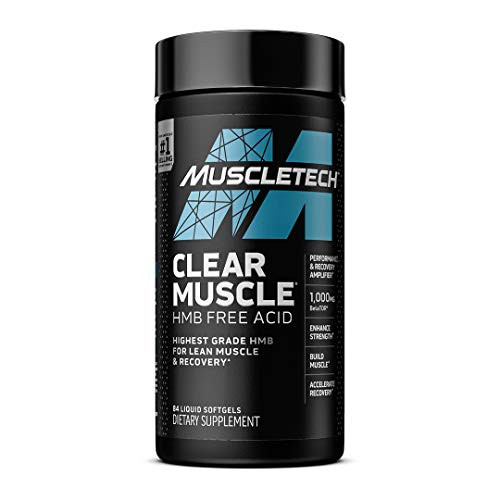 Muscle Recovery | MuscleTech Clear Muscle Post Workout Recovery | Muscle Builder for Men & Women | HMB Supplements | Sports Nutrition Post Workout Recovery & Muscle Building Supplements, 84 ct