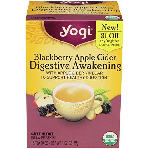 Yogi Tea, Blackberry Apple Cider Digestive Awakening, 16 Count